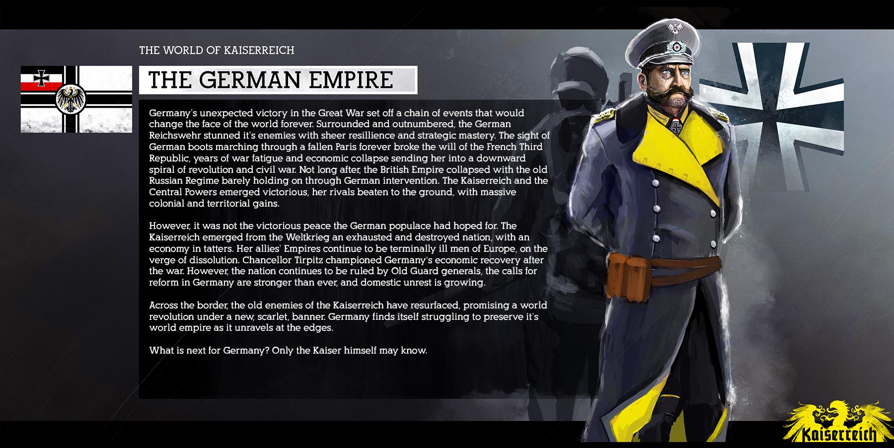 Kaiserreich - L'héritage de la Grande Guerre - Mundus Bellicus