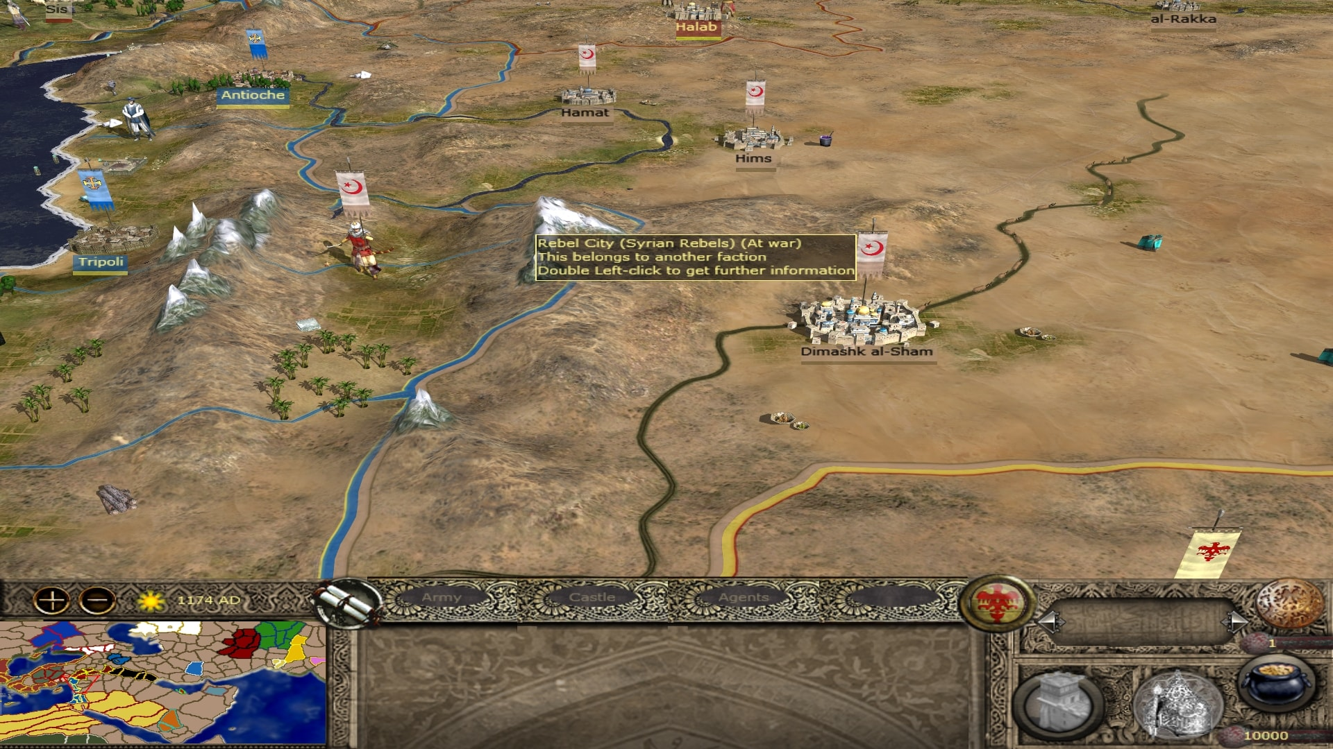 Medieval 2 total war broken crescent factions